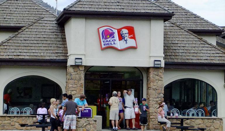 Fast Food Restaurants Estes Park