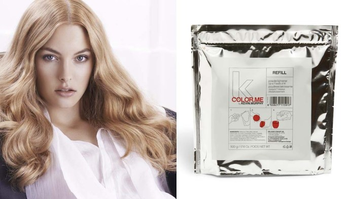 Color.Me by Kevin.Murphy announces New Refill Powder.Lightener