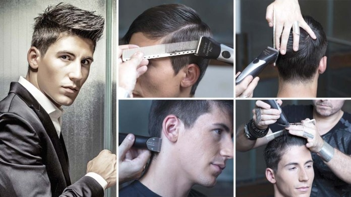 Step-by-Step: A Classy, Urbane Man by Raphael Perrier for Wahl