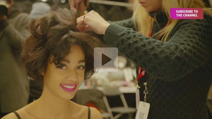 Video Alert! Jeremy Scott's Pin-Up Imperfection Hairstyle by Wella Professionals