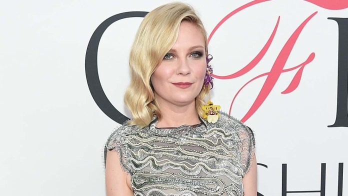 Get the Look! Kirsten Dunst's Graceful Waves by Caile Noble for L'ANZA Healing Haircare