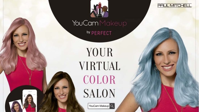 No Need To Be Color-Shy: Paul Mitchell teams up with YouCam Virtual Try-on App