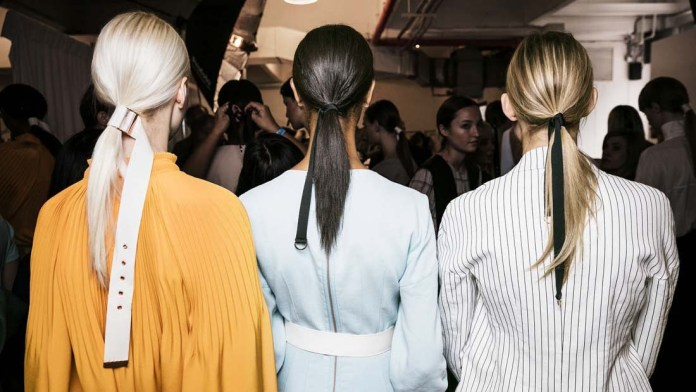 Get the NYFW Look: TIBI's Tie Game by Frank Rizzieri for Aveda