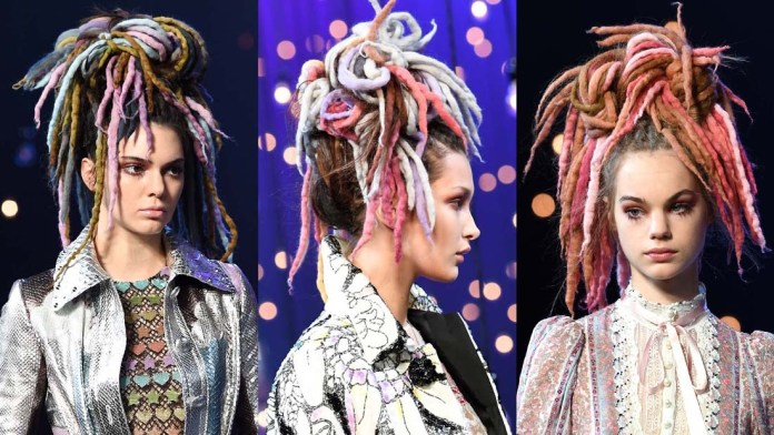 NYFW How To! Marc Jacobs' Multicolored Wool Extensions by Guido for Redken