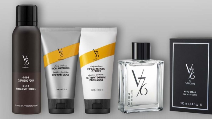 Save your Men's Skin: V76 by Vaughn's New Launch!