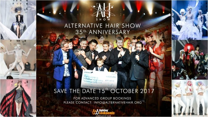 Save the Date: Alternative Hair Show celebrates 35 years in 2017!