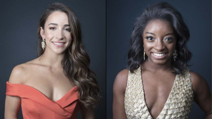 Gold Medal Looks – How To: Aly Raisman & Simone Biles' Golden Globes Style with Matrix