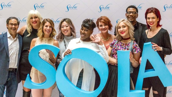 Sola Salon Studios offers Sola Sessions to a packed Dallas event