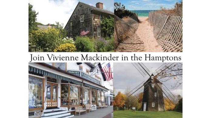 A Creative Getaway: Join Vivienne Mackinder in the Hamptons!