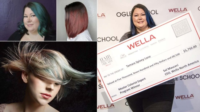 Changing Lives with a Wella Heart: Master Color Expert Scholarship Instructor Winner – Tamara Spivey-Lane!