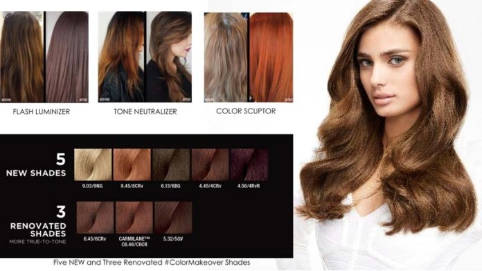 Discover New Hair Color Trends inspired by Makeup Techniques with Majirel #ColorMakeOver