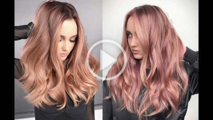 Video Alert! How To: Rose Gold Hair Tutorial