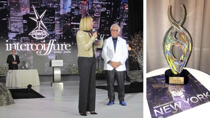 Educator of the Year! Candy Shaw wins Intercoiffure's Prestigious 'Leo Passage' Award