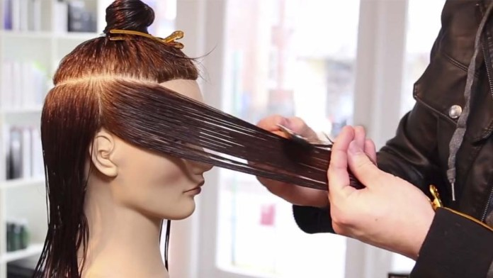 Video Alert! How To Cut a Long Layered Haircut with a Razor