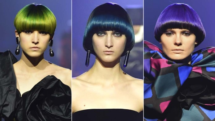 Get the NYFW Look + Color Formulas: Marc Jacobs' 60s Blowouts and Vivid Colors by Guido Palau & Josh Wood