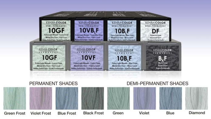 Introducing the New Kenra Color Frost Shine Collection
