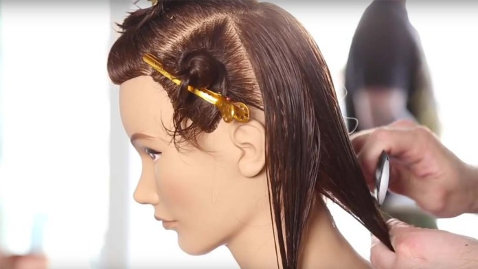 Video Alert! How To: Cutting a Quick Bob Haircut on Curly or Straight Hair