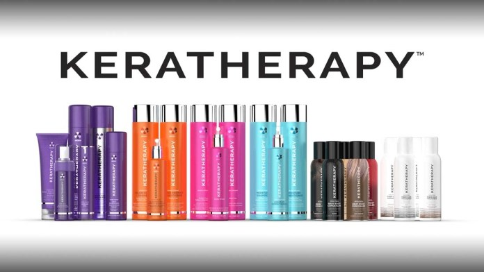 Keratherapy's Salon Quality Products get a Makeover & Restyle their Design!