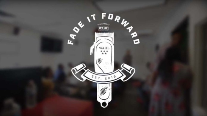 A Beautiful Initiative: Fade it Forward with Wahl Professional