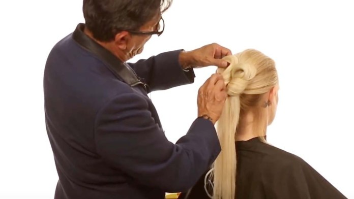Video Alert! How To Create a Unique and Simple Bun with Sam Villa