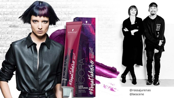 IGORA #RoyalTakeOver – Create your Own Lucid Nocturnes Look and Win!