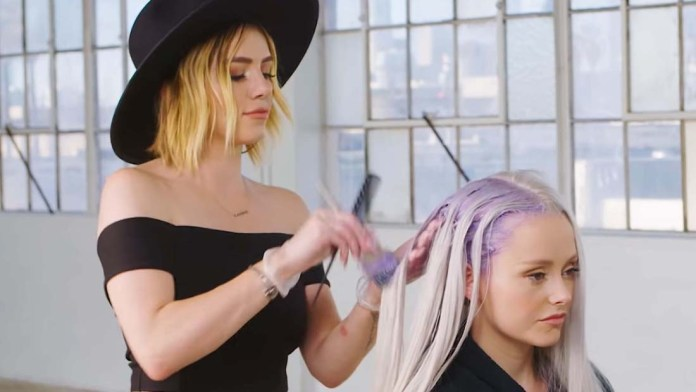 Video Alert! How To: Iridescent Dust Pastel Hair Color by Larisa Love