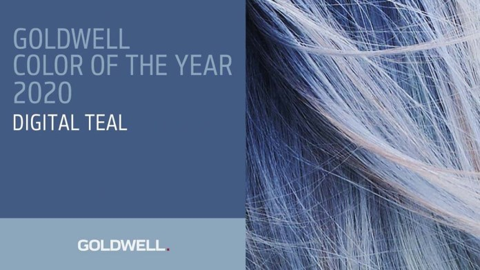 Goldwell announces Color of the Year 2020: Digital Teal