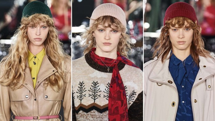 Get the NYFW Look! Coach's FW2020 Faux Bangs by Guido