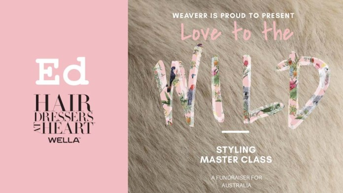"""Hairdressers At Heart & Wella Education support Australian Wildfire Relief through """"Love to the Wild"""" Fundraiser"""