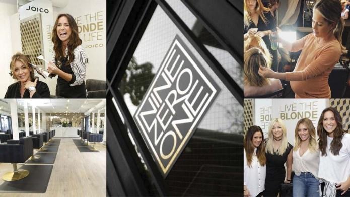 Der berühmte Nine Zero One Salon in L.A. arbeitet ab sofort mit Joico LumiShine als Haupthaarfarbe