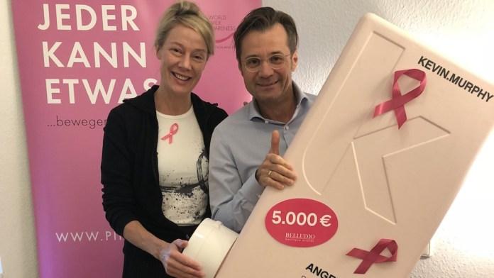 KEVIN.MURPHY LOVES PINK – Spenden bringen 5000 Euro für Pink Ribbon Deutschland