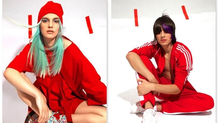 Krasser Gegensatz: Red Machine by Estel