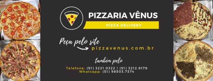pizzaria vênus pizza tele ifood rappi uber eats tele delivery cupom app aplicativo gastronomia porto alegre centro histórico