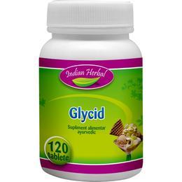 Glycid Indian Herbal, 120 comprimate