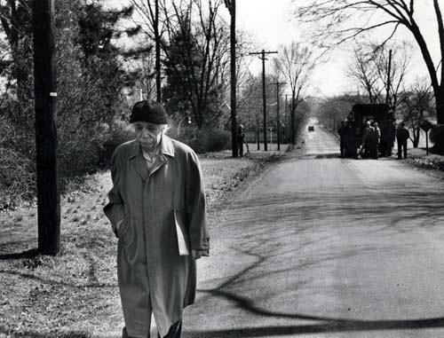 Albert Einstein Walking On Down The Street