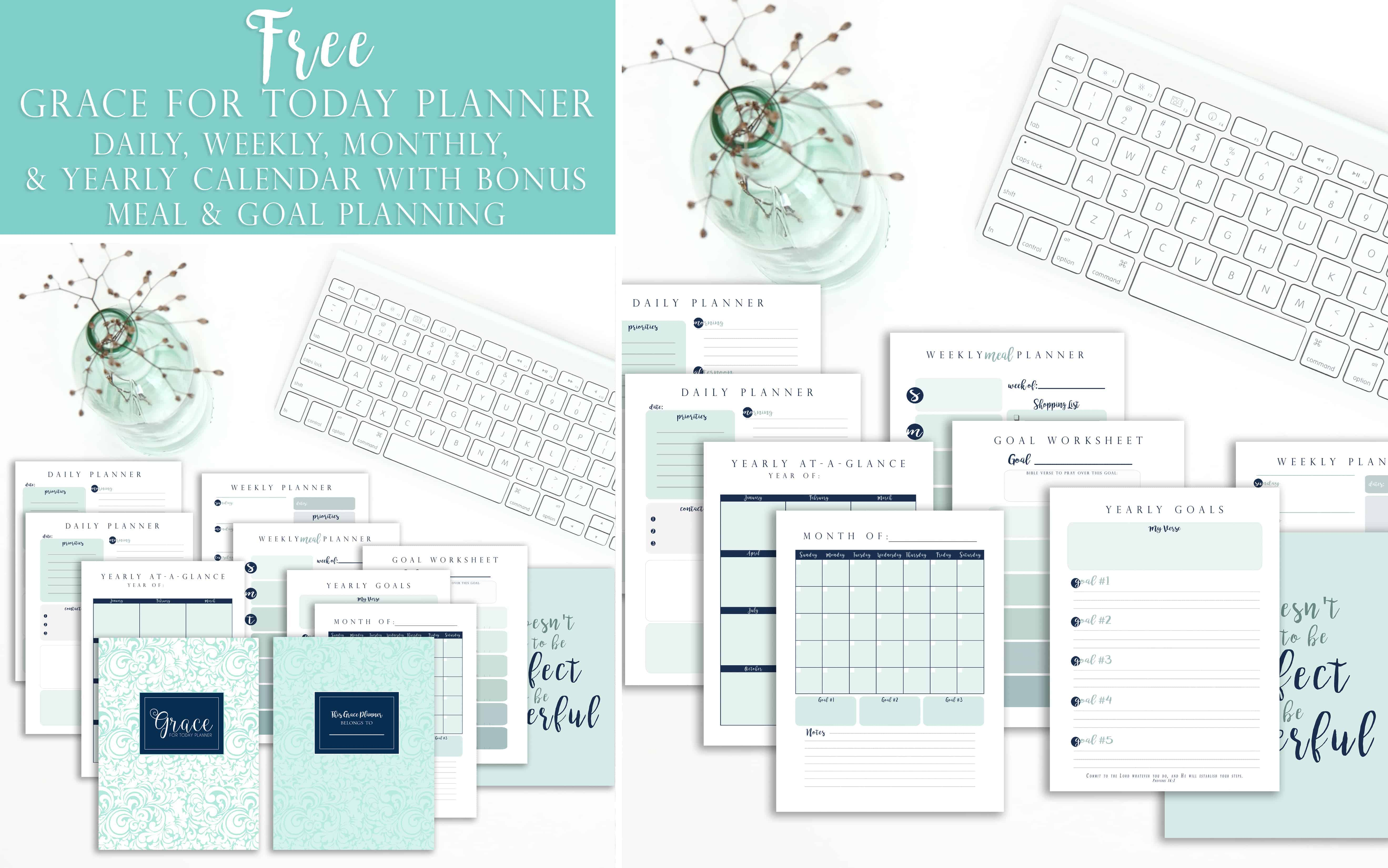 Get Your Free Calendar With Bible Verse