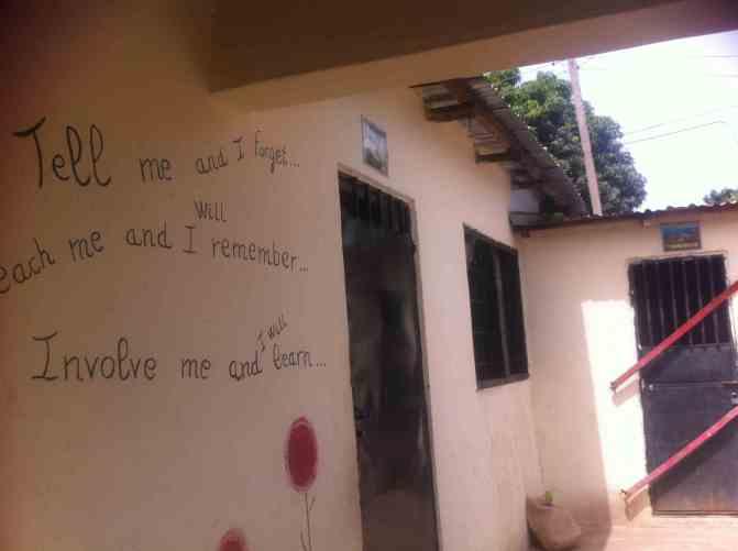 Escuela La Trikunda, Gambia, Afrikanarias ONG