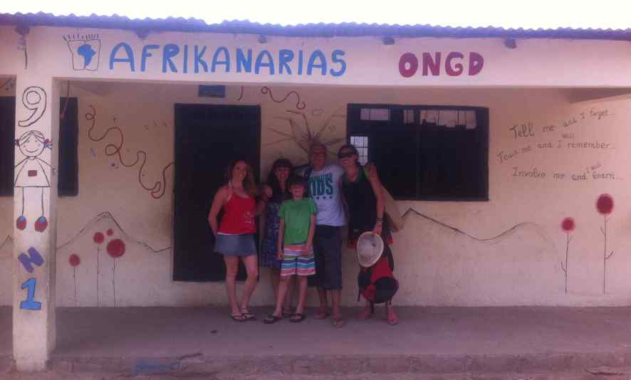 Afrikanarias en Gambia, escuela infantil la Trikunda
