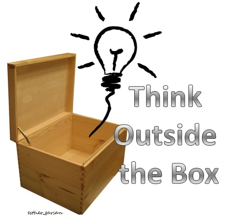 THink outside the box by esthergarsan