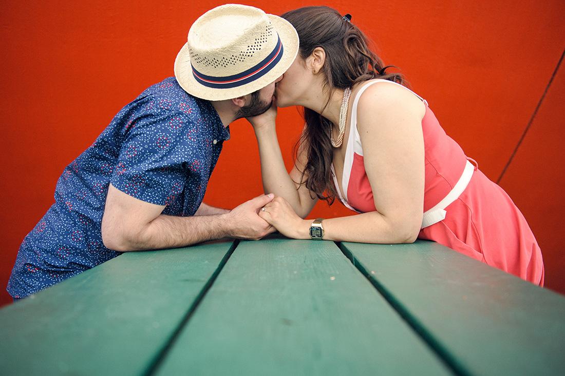 Couples photoshoot at Big Orange Gibeau