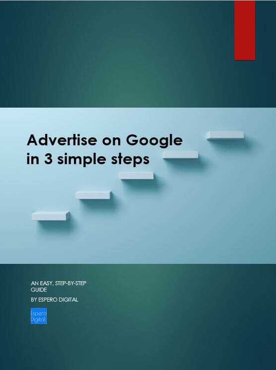 Advertise on Google in 3 simple steps -Cover -Esther Goh TOk MUi