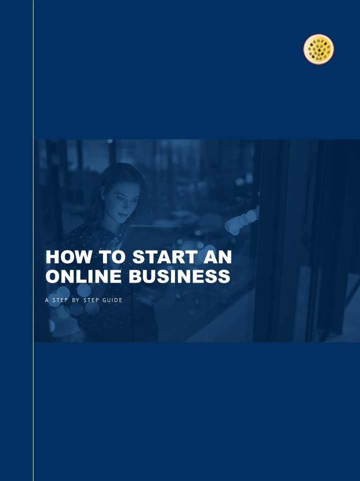 HOW TO START AN ONLINE BUSINESS Cover