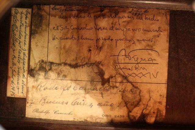andres segovia's signature