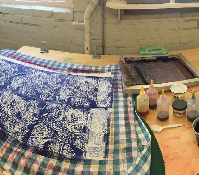 Im teaching Printing with Dye amp Deconstructed Screen Printing onhellip
