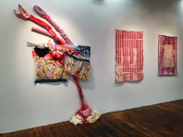 Installation view, Grown Up, collaboration with Cathe Janke, 2015