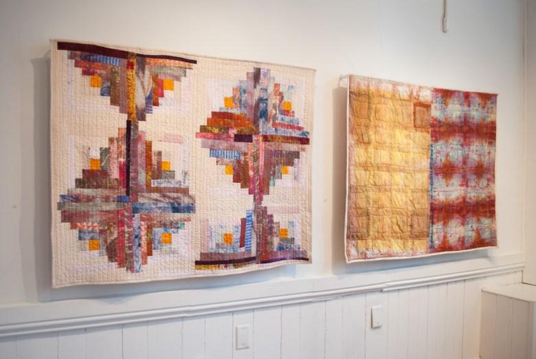 Installation view of Unbound exhibition, Esther S White 2016