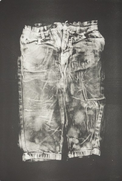 Esther S White, Untitled, 2017, gelatin plate monotype