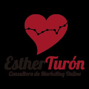 logo esther turon, marketing online, community manager, social media