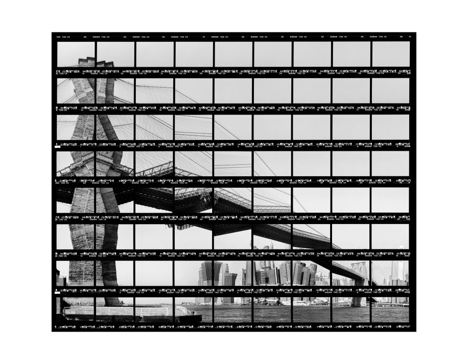 "40#06,_New_York,_Skyline_at_Brooklyn_Bridge,_2003,_BW-Print,_34,5_x_28,0_cm_/_13,5""_x_10,9"",_10+3"