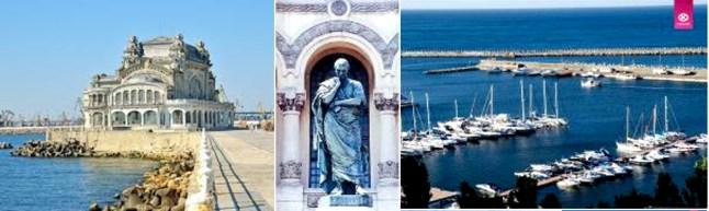 Casino of Constanta| Ovid Statue | Tomis Turistic Harbour
